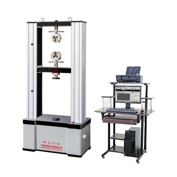 PET塑钢带拉断伸长率试验机